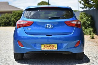 2016 Hyundai i30 GD4 Series II MY17 Active Blue 6 Speed Sports Automatic Hatchback