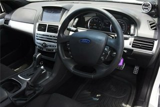 2012 Ford Falcon FG MkII XR6 Ute Super Cab Turbo White 6 Speed Sports Automatic Utility
