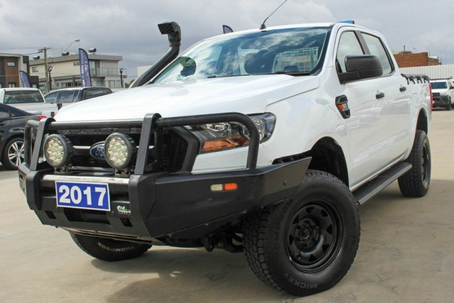 Used Ford Ranger PX MkII XL Coburg North, 2017 Ford Ranger PX MkII XL White 6 Speed Sports Automatic Utility