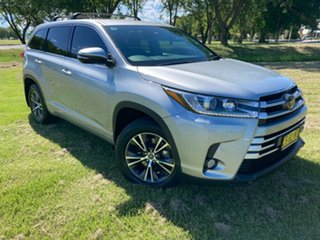 2018 Toyota Kluger GSU50R GX 2WD Silver 8 Speed Sports Automatic Wagon.