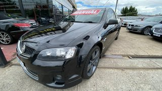 2012 Holden Ute VE II SV6 Thunder Black 6 Speed Manual Utility