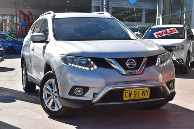 Used Nissan X-Trail T32 ST-L X-tronic 4WD Blacktown, 2016 Nissan X-Trail T32 ST-L X-tronic 4WD Silver 7 Speed Constant Variable Wagon