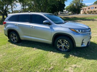 2018 Toyota Kluger GSU50R GX 2WD Silver 8 Speed Sports Automatic Wagon