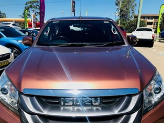 2016 Isuzu MU-X MY15 LS-M Rev-Tronic 4x2 Bronze 5 Speed Sports Automatic Wagon