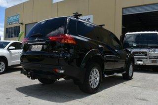 2010 Mitsubishi Challenger PB XLS (7 Seat) (4x4) Black 5 Speed Automatic Wagon