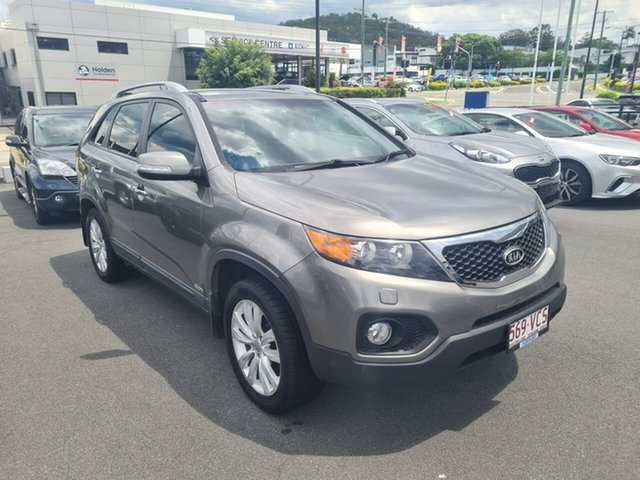 Used Kia Sorento XM MY11 Platinum Mount Gravatt, 2010 Kia Sorento XM MY11 Platinum Grey 6 Speed Sports Automatic Wagon