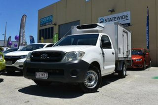 2010 Toyota Hilux TGN16R 09 Upgrade Workmate White 5 Speed Manual Cab Chassis.