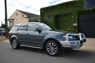 2015 Ford Territory SZ MK2 Titanium (RWD) Grey 6 Speed Automatic Wagon.