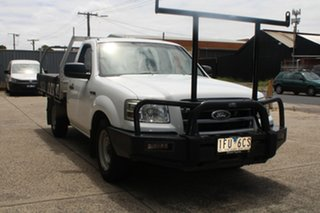 2008 Ford Ranger PJ 07 Upgrade XL (4x2) 5 Speed Manual Cab Chassis.