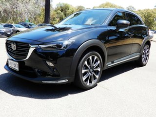 2018 Mazda CX-3 DK2W7A Akari SKYACTIV-Drive Black 6 Speed Sports Automatic Wagon