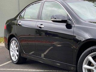 2006 Honda Accord Euro CL MY2006 Luxury Black 5 Speed Automatic Sedan