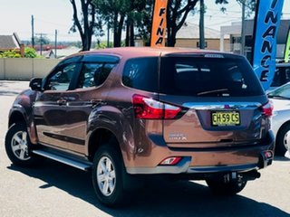 2016 Isuzu MU-X MY15 LS-M Rev-Tronic 4x2 Bronze 5 Speed Sports Automatic Wagon.