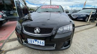2012 Holden Ute VE II SV6 Thunder Black 6 Speed Manual Utility.