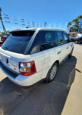 Used Land Rover Range Rover Sport L320 09MY TDV6 Maddington, 2008 Land Rover Range Rover Sport L320 09MY TDV6 White 6 Speed Sports Automatic Wagon