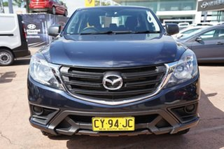 2018 Mazda BT-50 MY17 Update XT (4x4) Blue 6 Speed Automatic Dual Cab Utility
