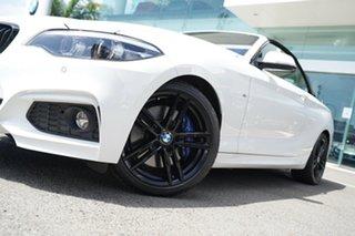 2019 BMW 230i F22 MY17 M Sport Alpine White 8 Speed Automatic Convertible.
