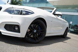2019 BMW 230i F22 MY17 M Sport Alpine White 8 Speed Automatic Convertible