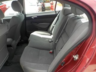 2007 Honda Civic MY07 VTi Red 5 Speed Automatic Sedan