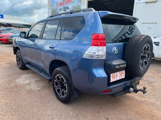 2010 Toyota Landcruiser Prado KDJ150R GXL Blue 6 Speed Manual Wagon.
