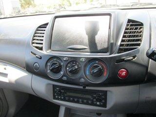 2008 Mitsubishi Triton ML MY08 GLX Silver 4 Speed Automatic Cab Chassis
