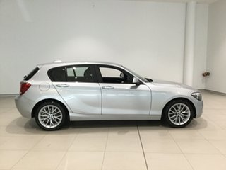 2014 BMW 1 Series F20 MY0713 118i Steptronic Billet Silver 8 Speed Sports Automatic Hatchback.