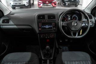 2016 Volkswagen Polo 6R MY16 66TSI Trendline Grey 5 Speed Manual Hatchback.