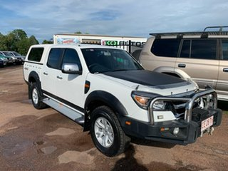 2010 Ford Ranger PK XLT Crew Cab White 5 Speed Automatic Utility.