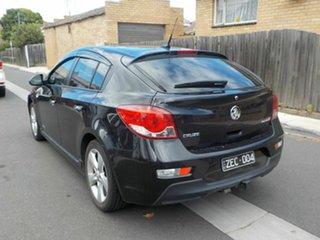 2012 Holden Cruze JH MY12 SRi V Black 6 Speed Automatic Hatchback