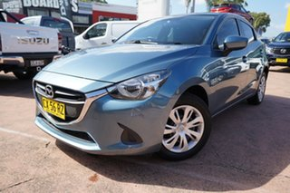 2015 Mazda 2 DJ Neo Blue 6 Speed Manual Hatchback.