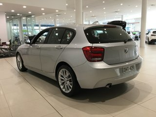 2014 BMW 1 Series F20 MY0713 118i Steptronic Billet Silver 8 Speed Sports Automatic Hatchback