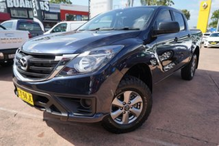 2018 Mazda BT-50 MY17 Update XT (4x4) Blue 6 Speed Automatic Dual Cab Utility.