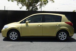 2006 Nissan Tiida C11 ST-L Yellow 4 Speed Automatic Hatchback