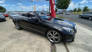 2013 Mercedes-Benz E-Class A207 MY13 E400 7G-Tronic + Black 7 Speed Sports Automatic Cabriolet