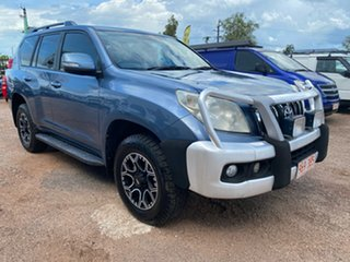 2010 Toyota Landcruiser Prado KDJ150R GXL Blue 6 Speed Manual Wagon