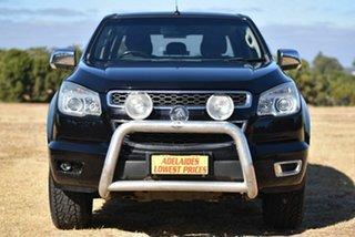 2013 Holden Colorado RG MY13 LTZ Crew Cab 4x2 Black 6 Speed Sports Automatic Utility.