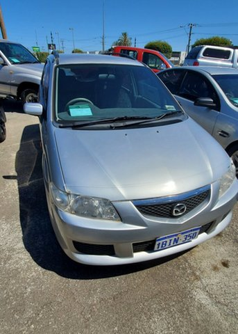 Used Mazda Premacy CP10S2 Maddington, 2003 Mazda Premacy CP10S2 Silver 5 Speed Manual Hatchback