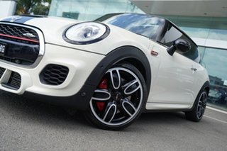 2016 Mini Cooper F56 JCW Pepper White 6 Speed Automatic Hatchback.
