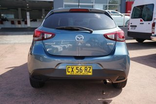 2015 Mazda 2 DJ Neo Blue 6 Speed Manual Hatchback