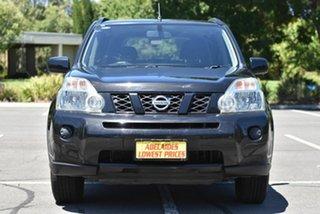 2008 Nissan X-Trail T31 ST Black 6 Speed Manual Wagon.