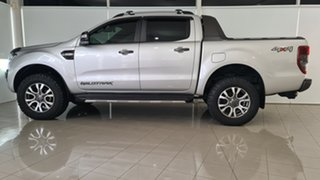 2018 Ford Ranger PX MkII 2018.00MY Wildtrak Double Cab Silver 6 Speed Sports Automatic Utility