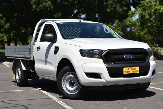 Used Ford Ranger PX MkII XL Enfield, 2015 Ford Ranger PX MkII XL White 6 Speed Manual Utility