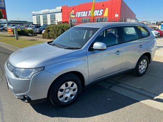2013 Mitsubishi Outlander ZJ MY13 ES 4WD Silver 6 Speed Constant Variable Wagon