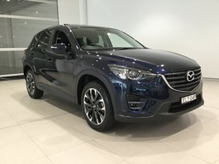2015 Mazda CX-5 KE1032 Grand Touring SKYACTIV-Drive AWD Blue 6 Speed Sports Automatic Wagon.