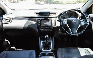 2014 Nissan Qashqai J11 TI Black 6 Speed Manual Wagon.