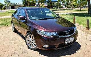 2010 Kia Cerato TD MY10 SLi Limited Brown 4 Speed Sports Automatic Sedan.