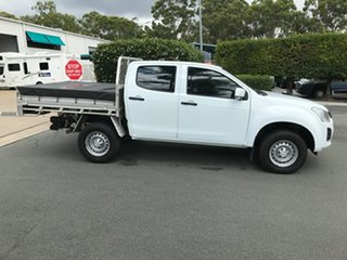 2017 Isuzu D-MAX MY17 SX Crew Cab White 6 speed Manual Cab Chassis