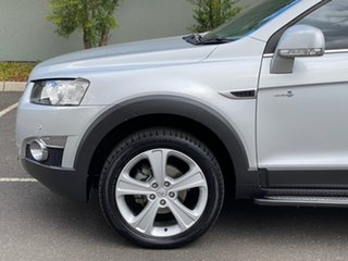 2013 Holden Captiva CG Series II MY12 7 AWD LX Silver 6 Speed Sports Automatic Wagon