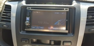 2010 Toyota Hilux KUN26R MY11 Upgrade SR5 (4x4) Black 4 Speed Automatic Dual Cab Pick-up