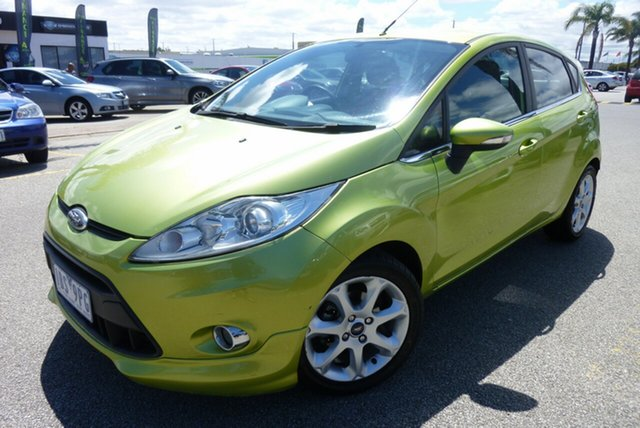 Used Ford Fiesta WS Zetec Cheltenham, 2010 Ford Fiesta WS Zetec 5 Speed Manual Hatchback