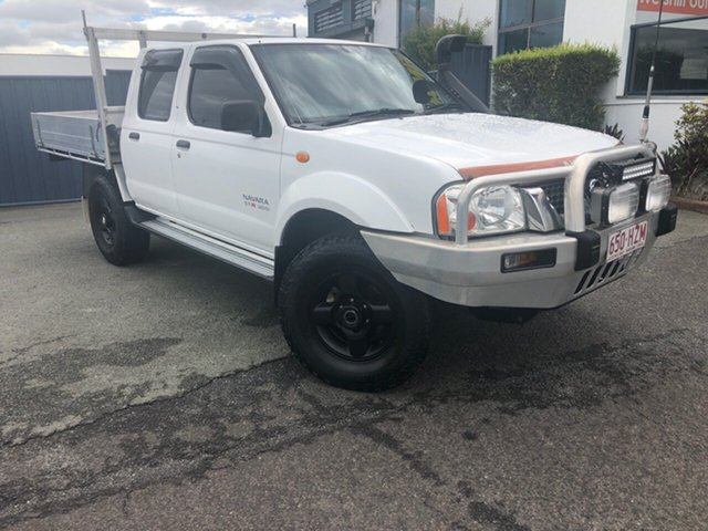 Used Nissan Navara D22 MY2003 ST-R Slacks Creek, 2004 Nissan Navara D22 MY2003 ST-R White 5 Speed Manual Utility